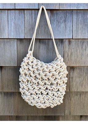 Alienina Anne Shoulder Bag Natural White