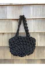 Alienina Alienina Woven Handle Bag Black
