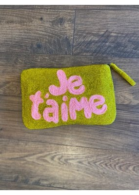 The Jacksons Je Taime Wristlet