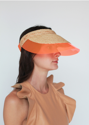 Lola Billiard Visor Orange