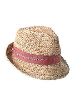 Lola Tarboush Bis Hat Terracotta