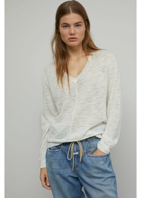 Closed Linen Mix V Sweater