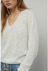 Closed Closed Linen Mix V Sweater