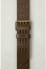 Closed Closed Leather Belt Laurel Green