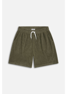 Closed Terry Cloth Short