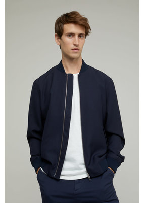 Closed Virgin Wool Bomber