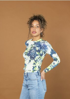 MJ Watson Printed Roundneck Pullover