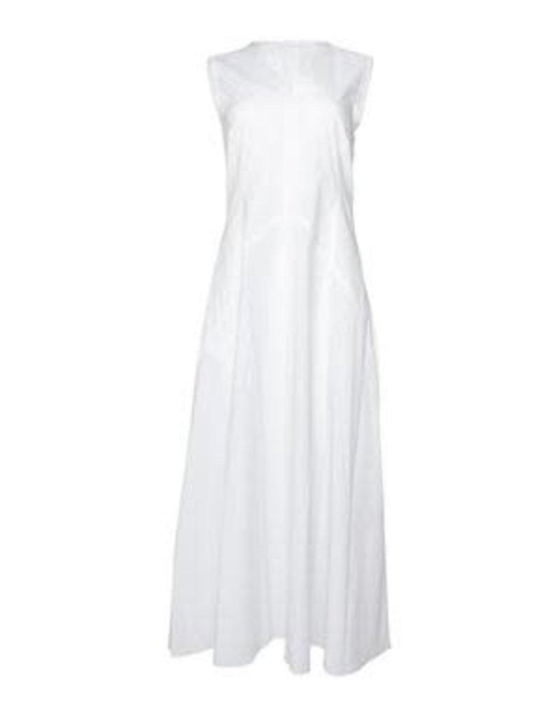 Caliban Caliban Cotton Donna Sleeveless Dress White