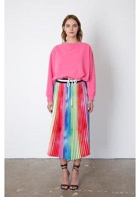 Le Superbe Rainbow Pleated Skirt