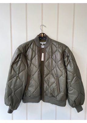 Clu Light Weight Quilted Bomber Jacket