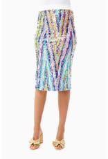 Le Superbe Le Superbe liza skirt Technicolor
