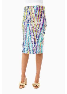 Le Superbe Liza Skirt Technicolor