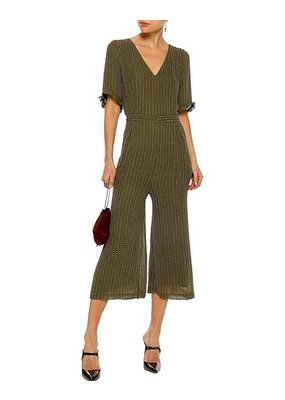 Love Sam Bead Jumpsuit Green