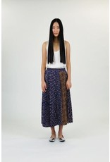 Clu Clu Multi-Color Pleated Skirt