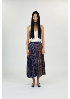 Clu Multi-Color Pleated Skirt