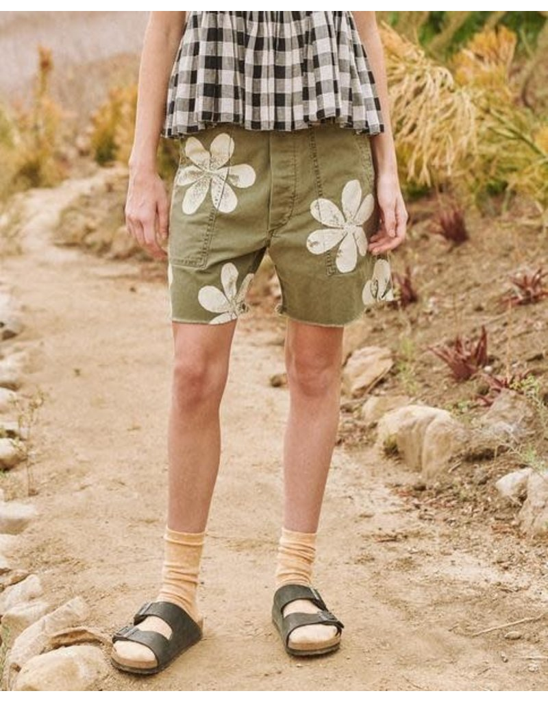 The Great The Great Vintage Army Shorts