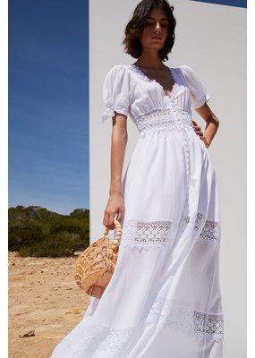 Charo Ruiz Thelma Dress White
