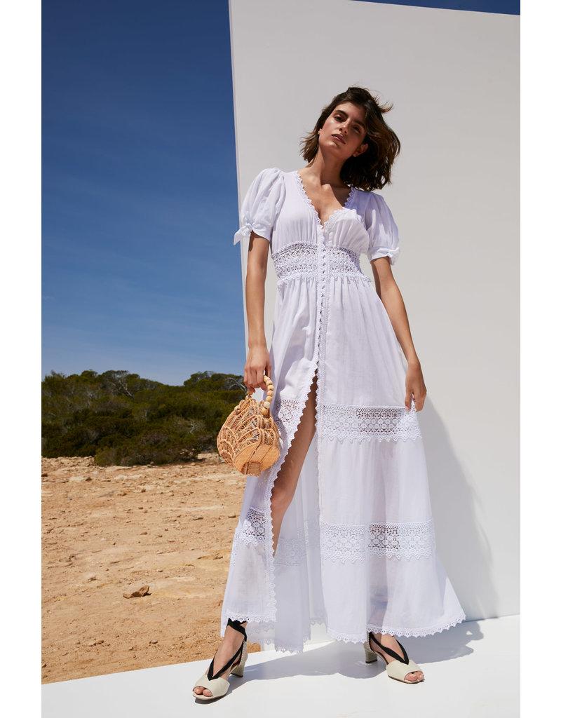 Charo Ruiz Charo Ruiz Thelma Dress White