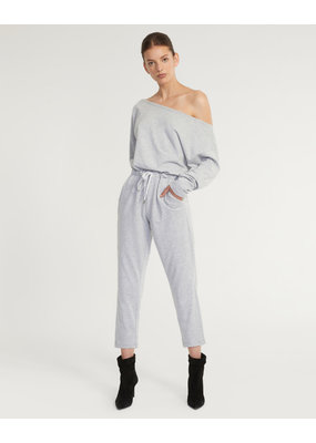 Marissa Webb Marlo Drop Shoulder Knit Jumpsuit