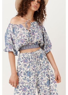 Spell And The Gypsy Folk Song Cropped Blouse