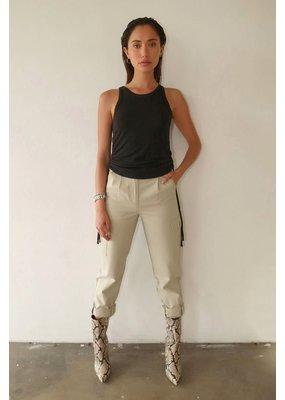 The Range Knit Drawcord Shirring Tank