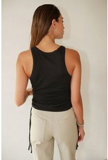 The Range The Range Knit Drawcord Shirring Tank