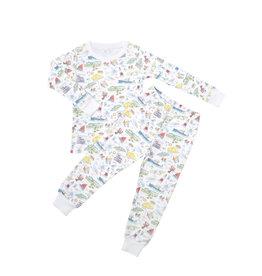 Sammy+Nat X Blue One Two piece pajama (kids)