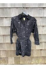 Noam Noam Jeannie Snap Down Shirt Dress