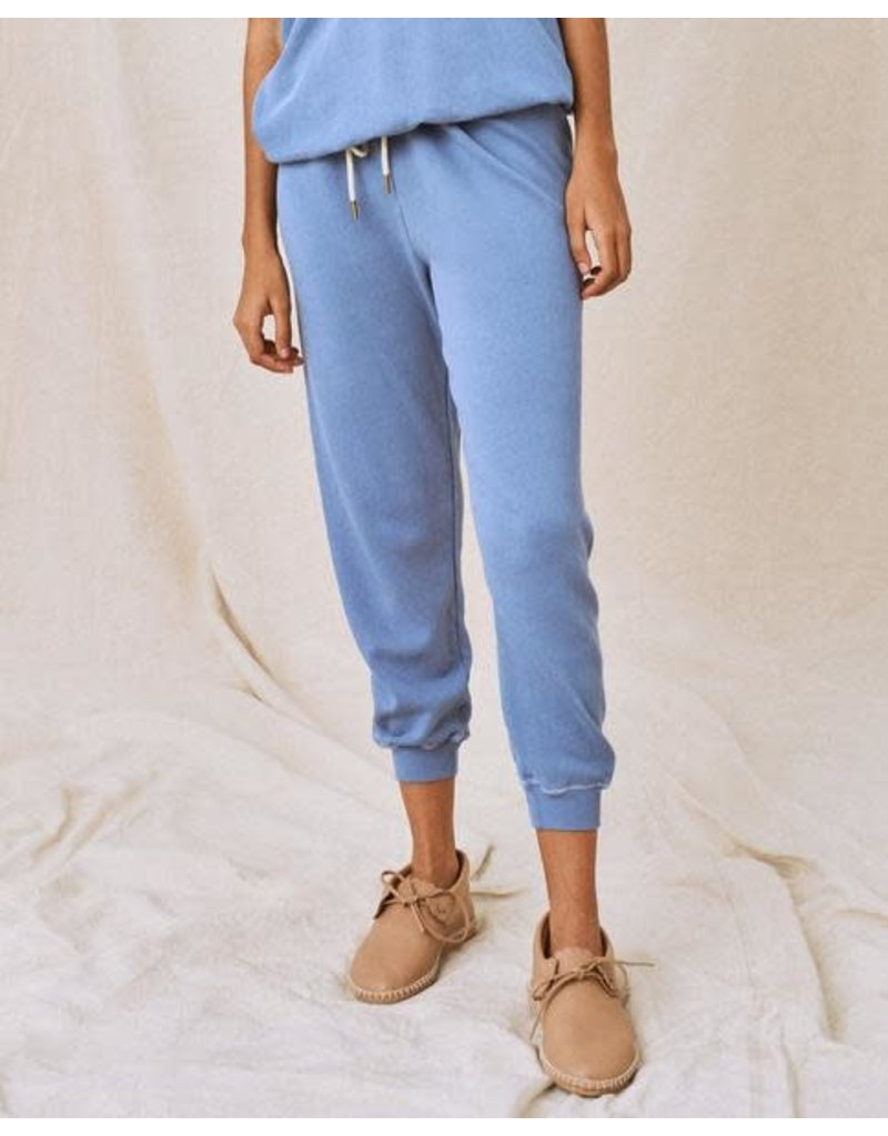 The Great The Great The Cropped Sweatpant Dutch Blue