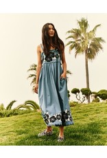 The Great The Great  Applique Floral Horizon Dress