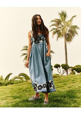 The Great Applique Floral Horizon Dress