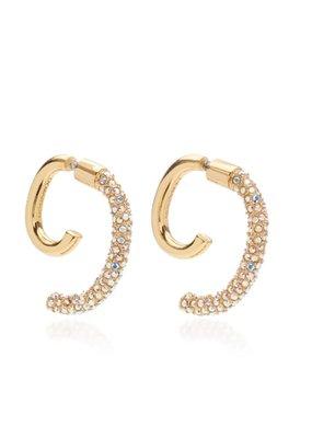 Demarson Pave Luna shiny gold/AB crystals