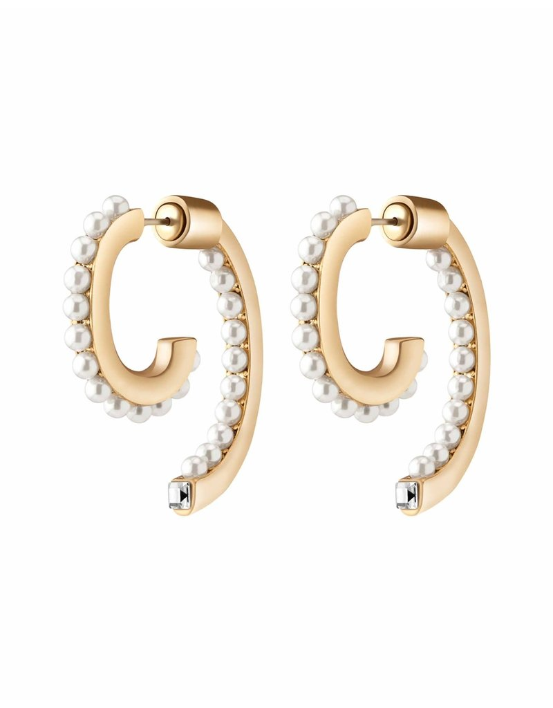 Demarson Demarson Pearl Luna Swarowski Pearls