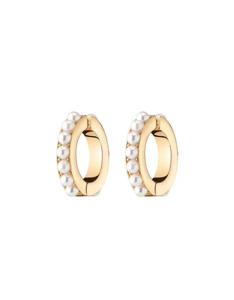 Demarson Demarson Lili Pearl Ear Cuffs 12K Gold Pearls