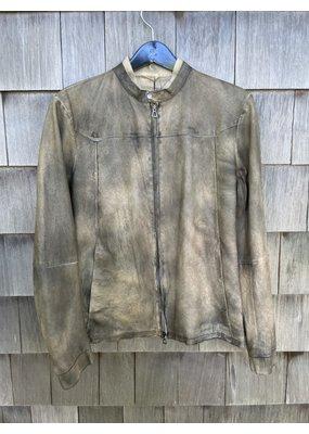 Di Bello Nappa Crust Leather Jacket