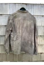 Di Bello Di Bello Nappa Crust Leather Shirt