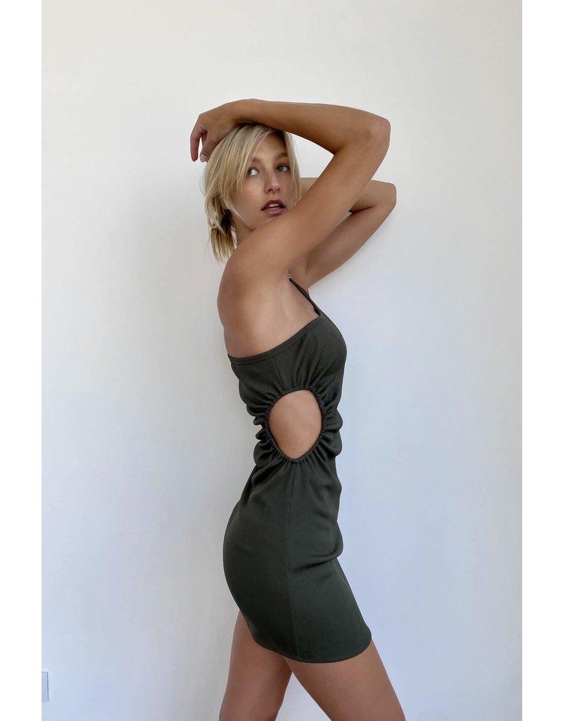Kimberly Taylor Kimberly Taylor Mini Palm Dress