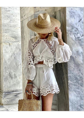 Lace The  Label High Waist Shorts