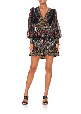 Camilla Frill Hem L/S Dress