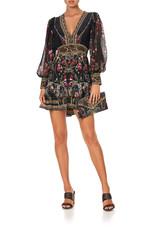 Camilla Camilla Frill Hem L/S Dress