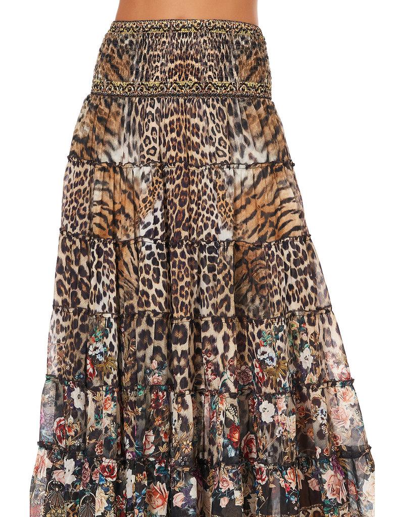 Camilla Camilla Shirred Waist Skirt