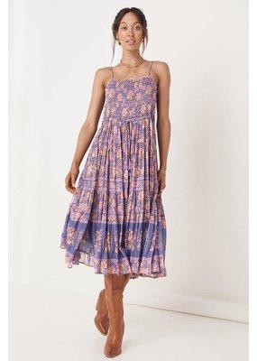 Spell Spell Juniper Shirred Strappy Dress