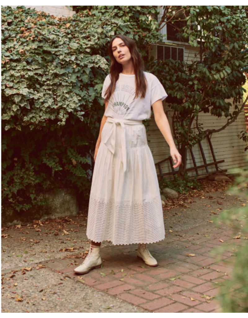 The Great The Great Eyelet Highland Skirt