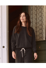 The Great The Great  Swiss Dot  Sweatshirt Almost Black