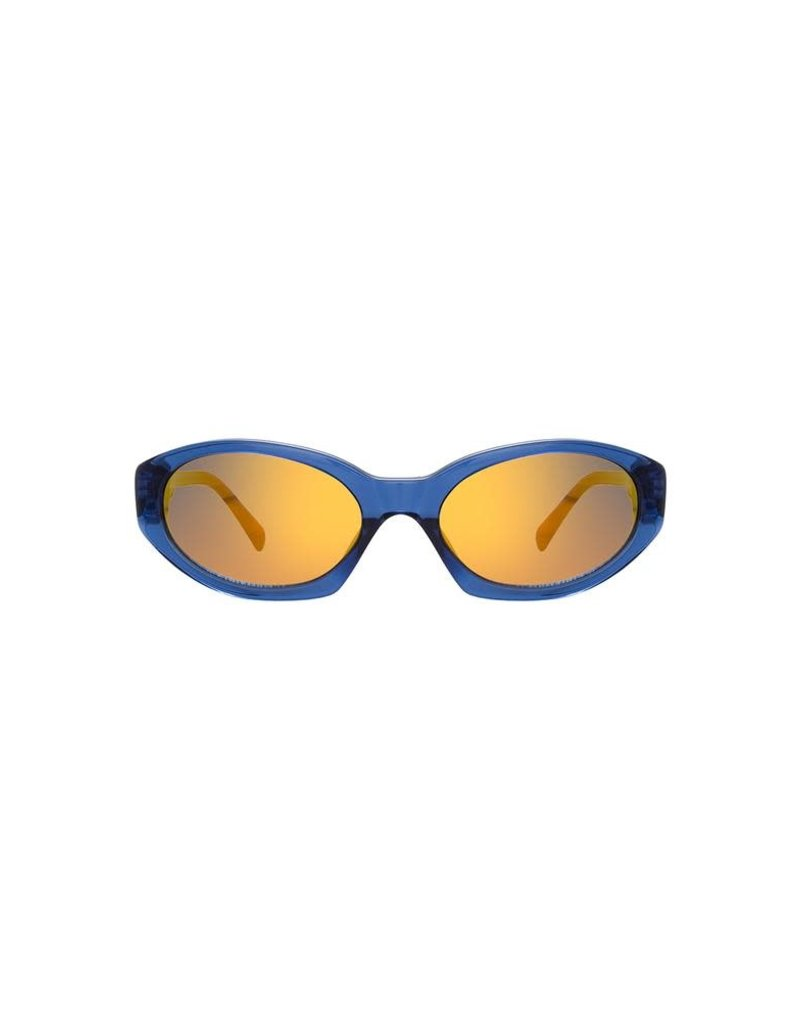 Linda Farrow Linda Farrow X Dries Van Noten Oval Sunglasses