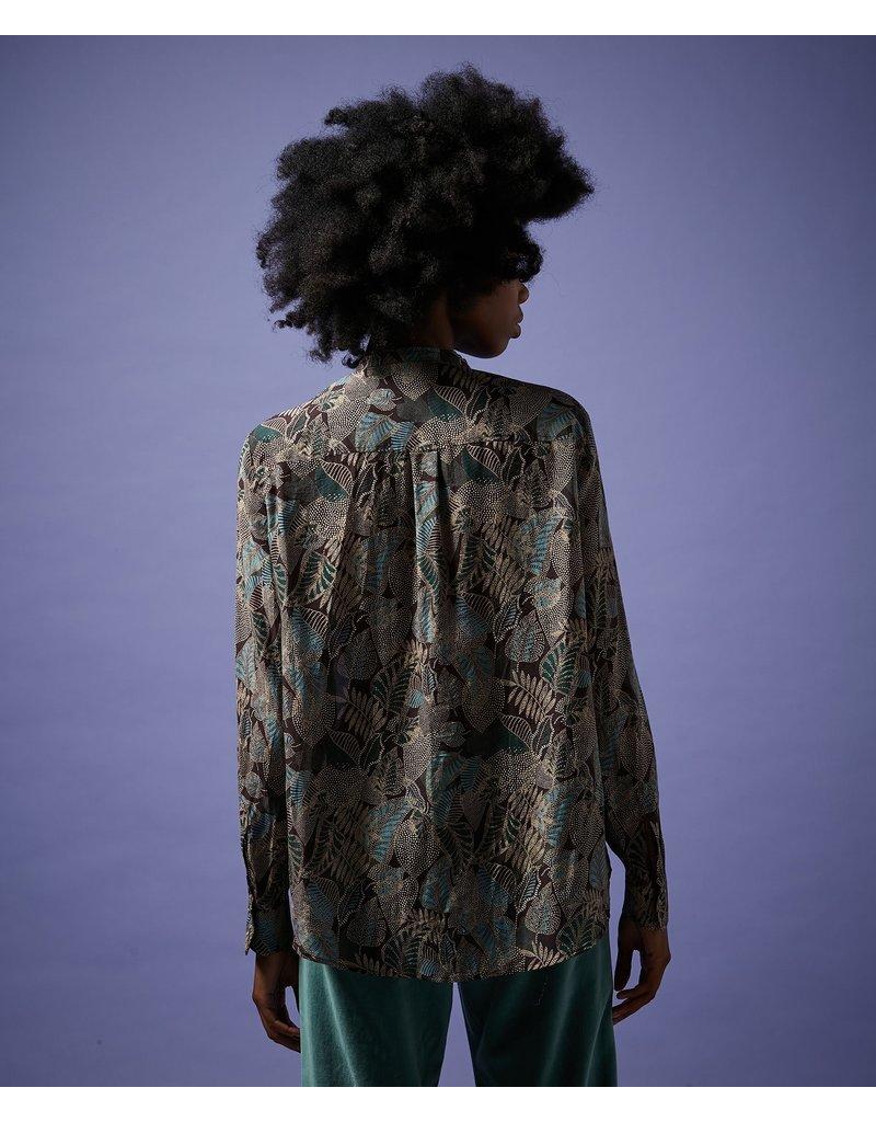 Hartford Hartford Leaf Woven Shirt