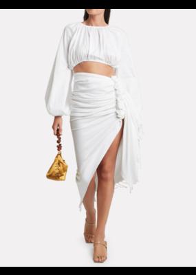 Just Bee Queen Just Bee Queen Tulum Skirt White