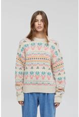 Closed Closed Italian Yarn Jacquard Sweater