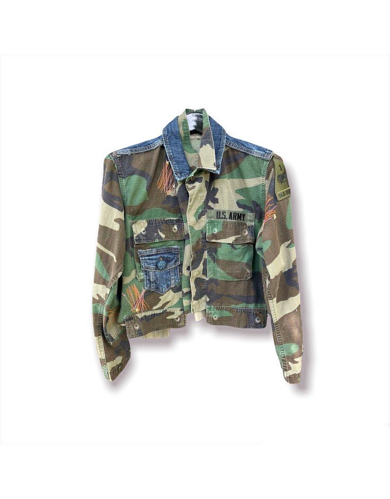 ThreadBare ThreadBare U.S Army Cropped Jacket