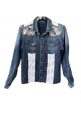 ThreadBare ThreadBare Denim Jacket w/ lace